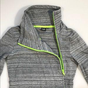 Twik Crew Neck Side Zipper Sweater